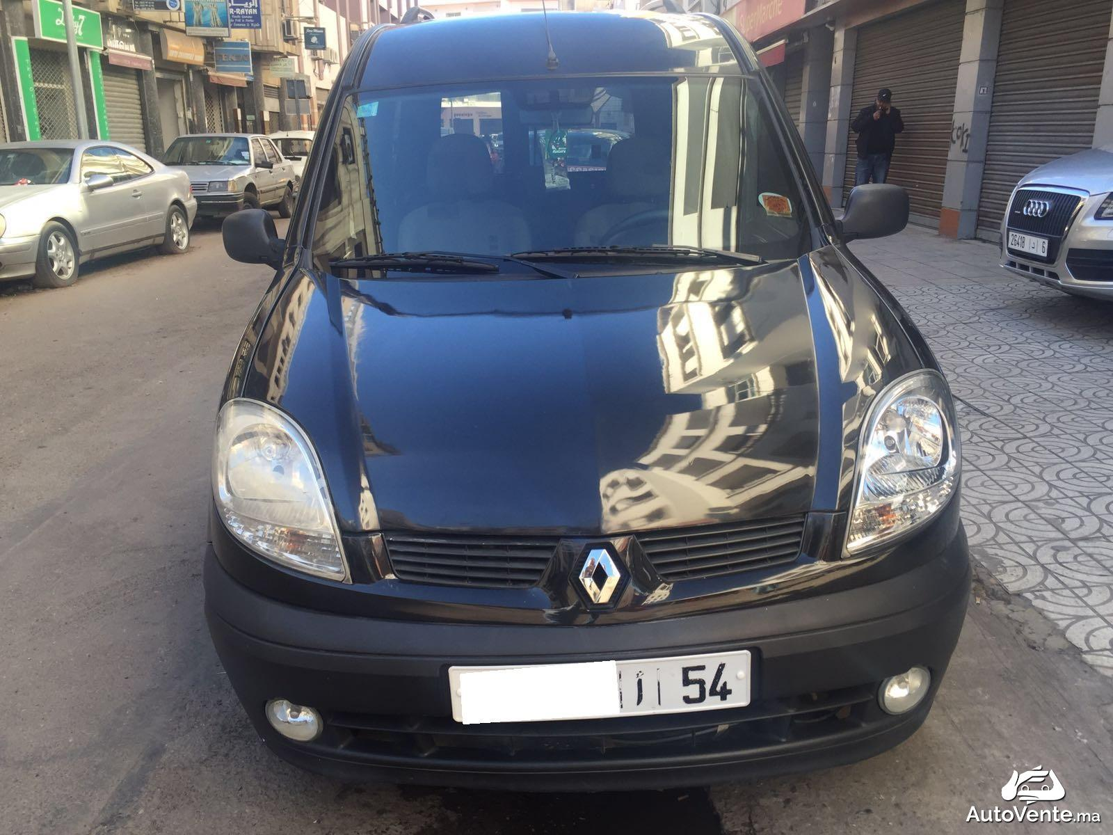 acheter renault kangoo d 39 occasion a casablanca maroc. Black Bedroom Furniture Sets. Home Design Ideas