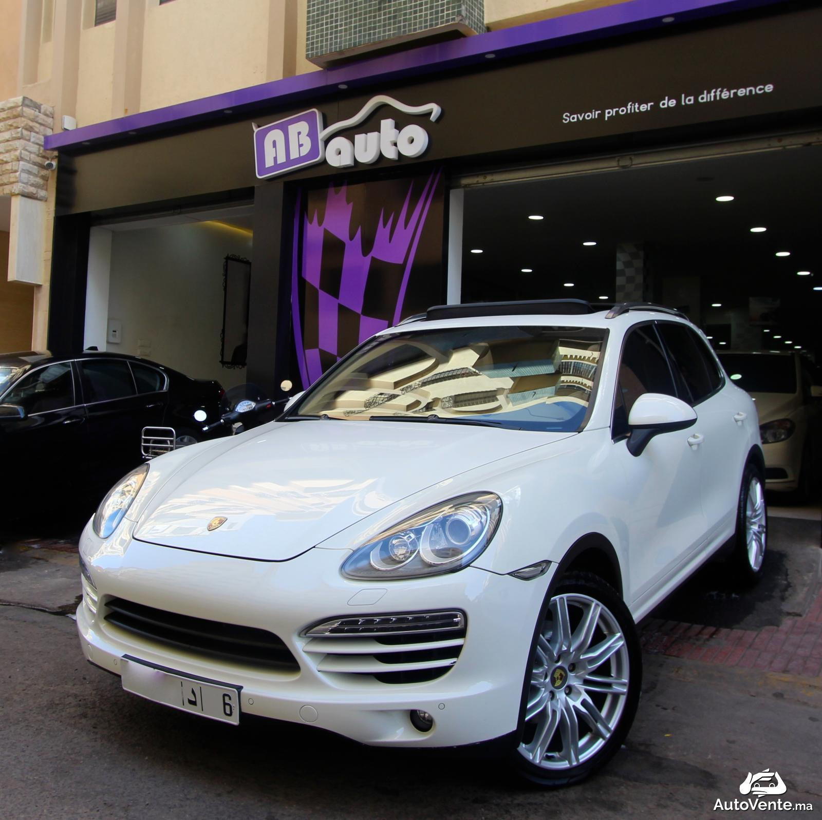 acheter porsche cayenne d 39 occasion a casablanca maroc autovente. Black Bedroom Furniture Sets. Home Design Ideas