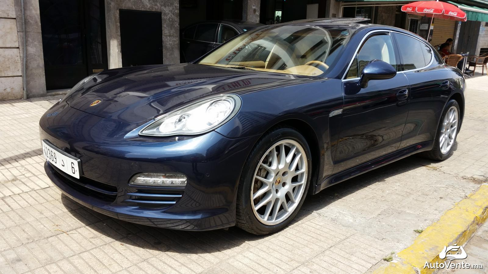 acheter porsche panamera 4s d 39 occasion a casablanca maroc autovente. Black Bedroom Furniture Sets. Home Design Ideas