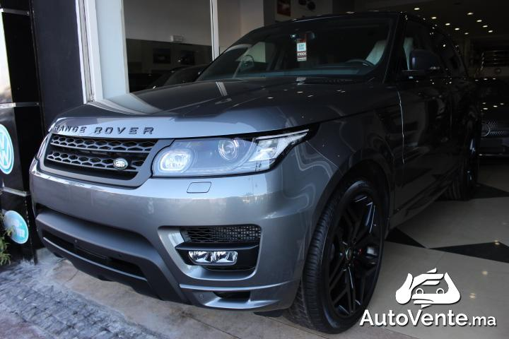acheter land rover range rover sport d 39 occasion a rabat. Black Bedroom Furniture Sets. Home Design Ideas
