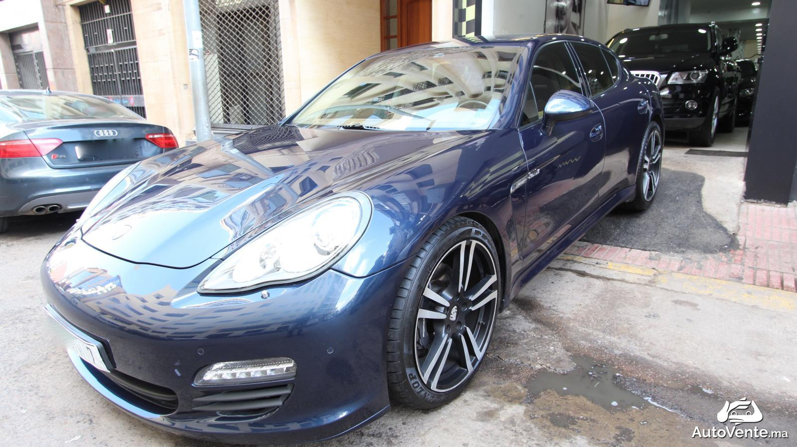 acheter porsche panamera d 39 occasion a casablanca maroc autovente. Black Bedroom Furniture Sets. Home Design Ideas