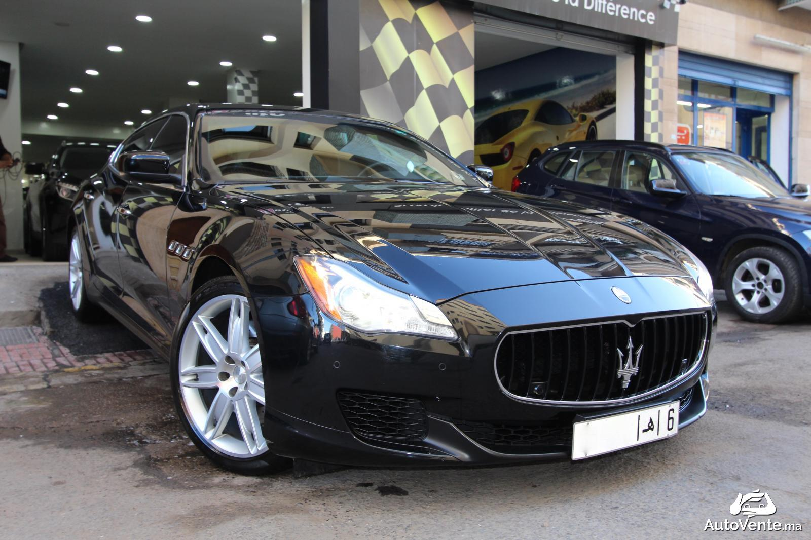acheter maserati quattroporte d 39 occasion a casablanca maroc autovente. Black Bedroom Furniture Sets. Home Design Ideas