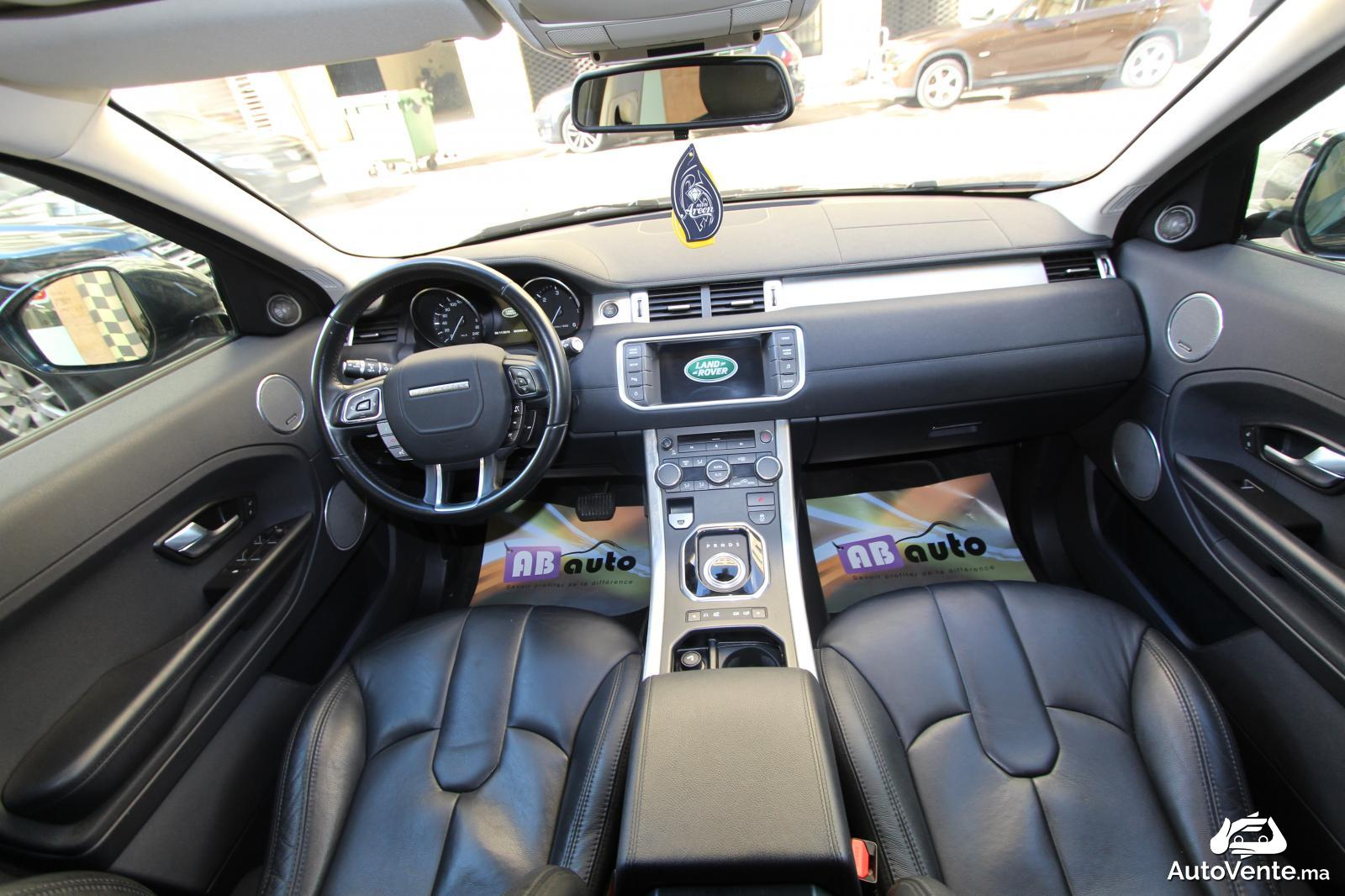 acheter land rover range rover evoque d 39 occasion a casablanca maroc autovente. Black Bedroom Furniture Sets. Home Design Ideas
