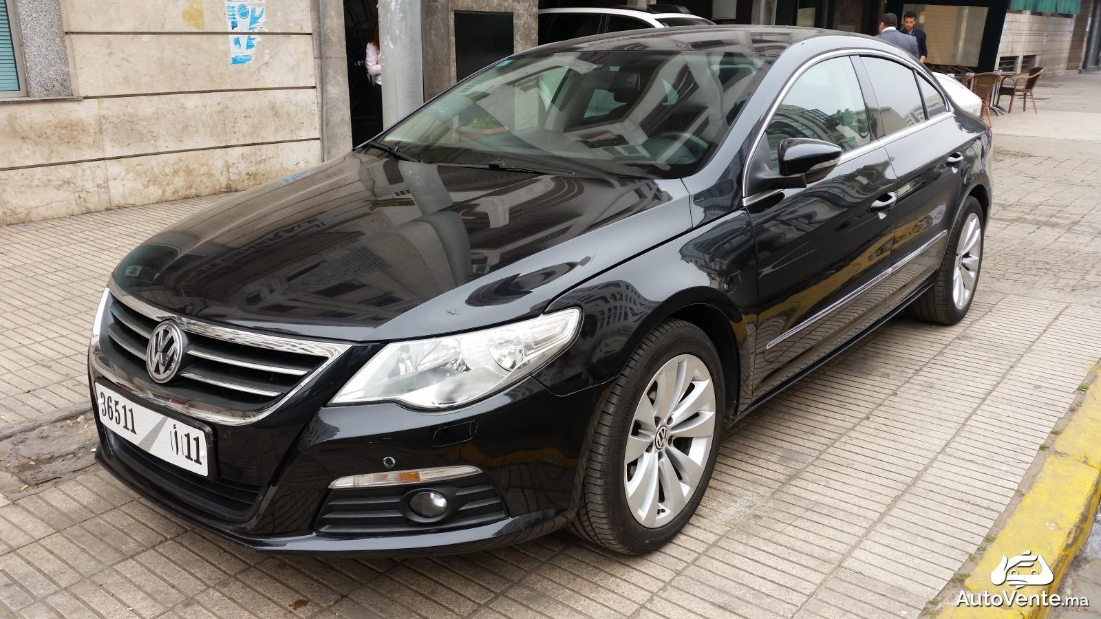 acheter volkswagen passat cc d 39 occasion a casablanca maroc. Black Bedroom Furniture Sets. Home Design Ideas