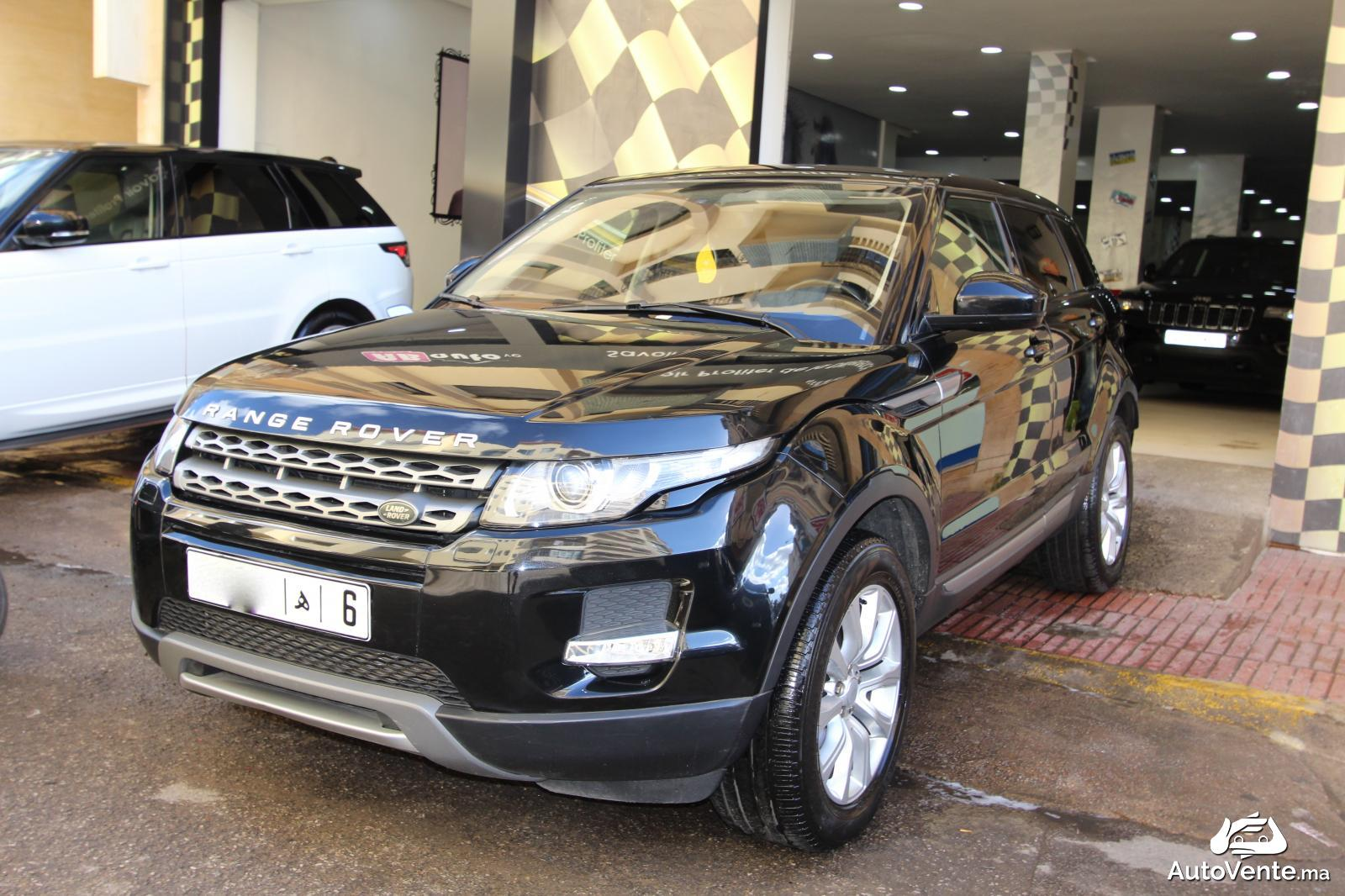 acheter land rover range rover evoque d 39 occasion a. Black Bedroom Furniture Sets. Home Design Ideas
