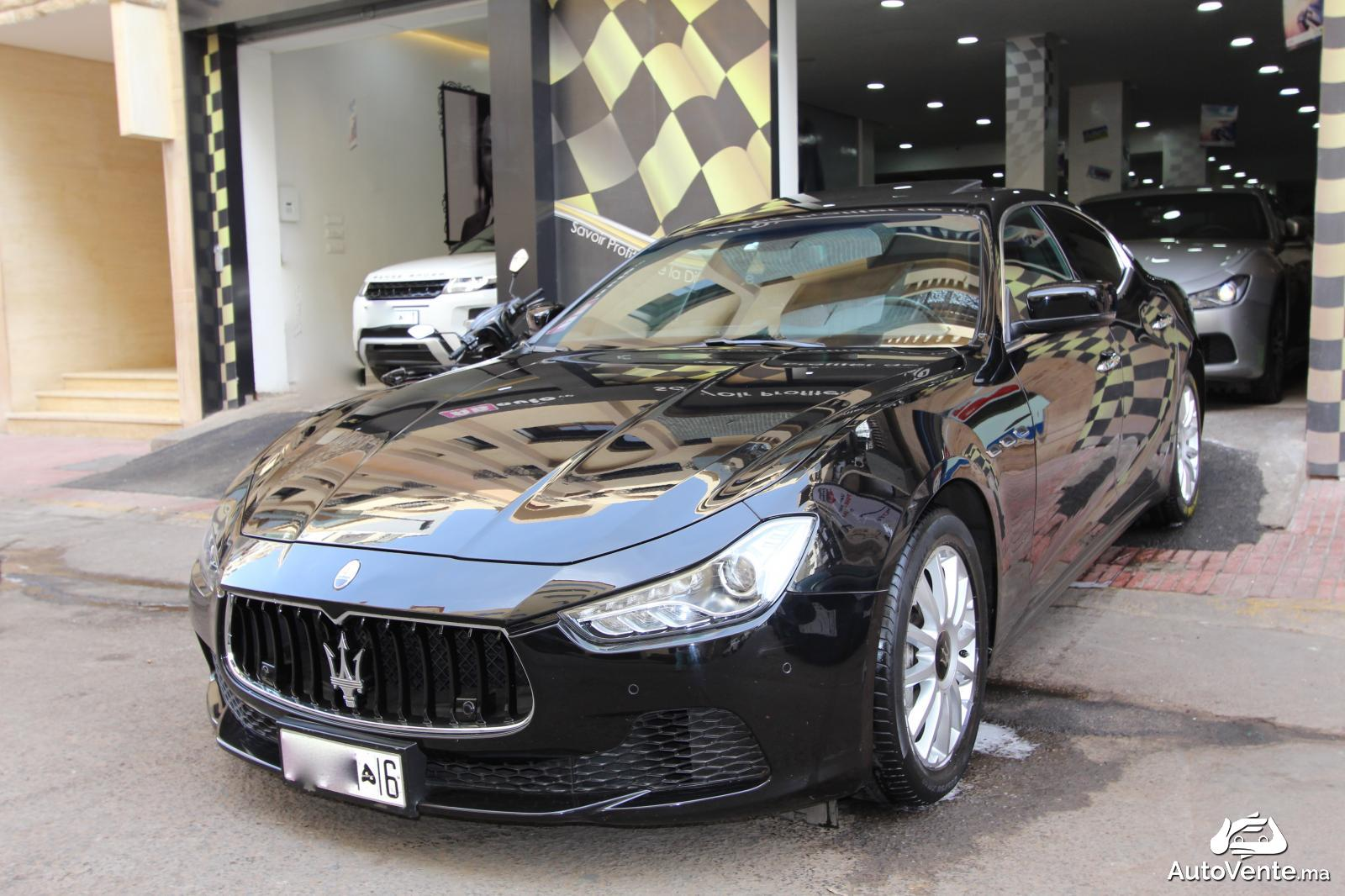 acheter maserati ghibli d 39 occasion a casablanca maroc autovente. Black Bedroom Furniture Sets. Home Design Ideas