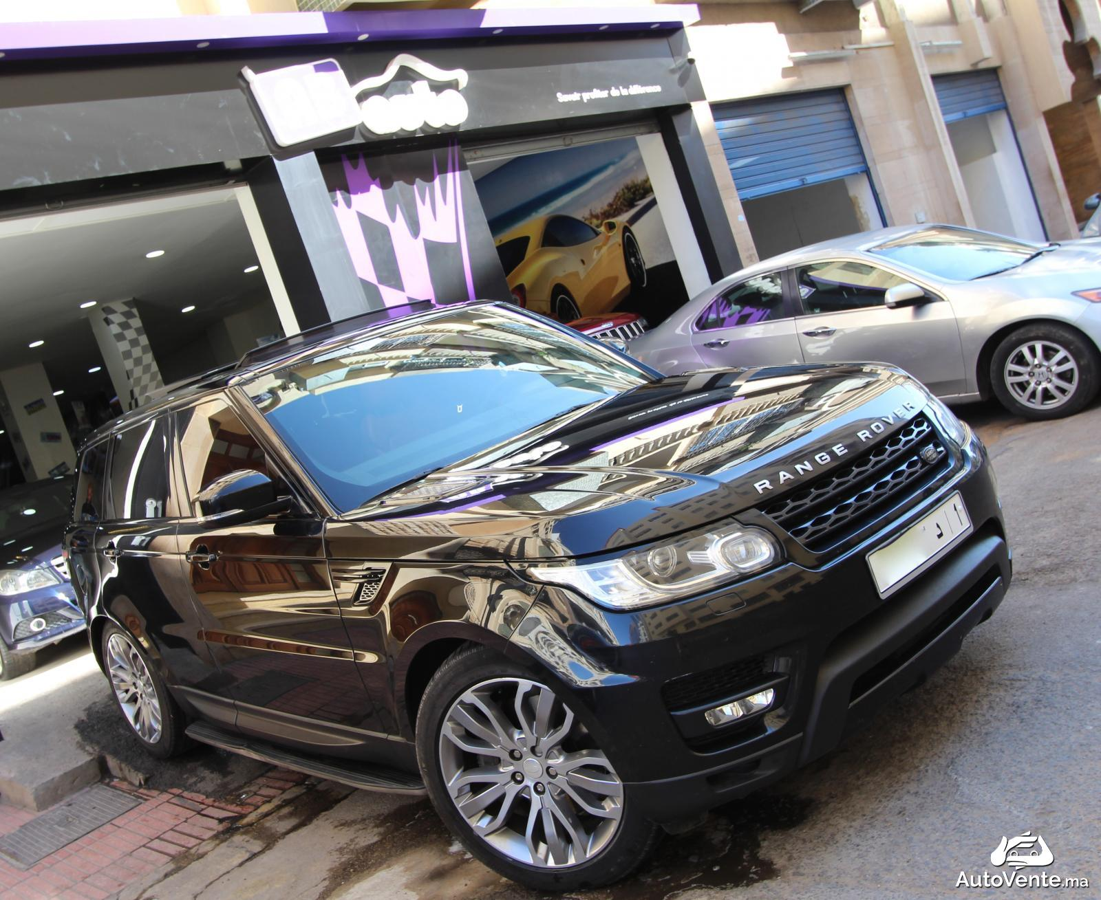 acheter land rover range rover d 39 occasion a casablanca maroc autovente. Black Bedroom Furniture Sets. Home Design Ideas