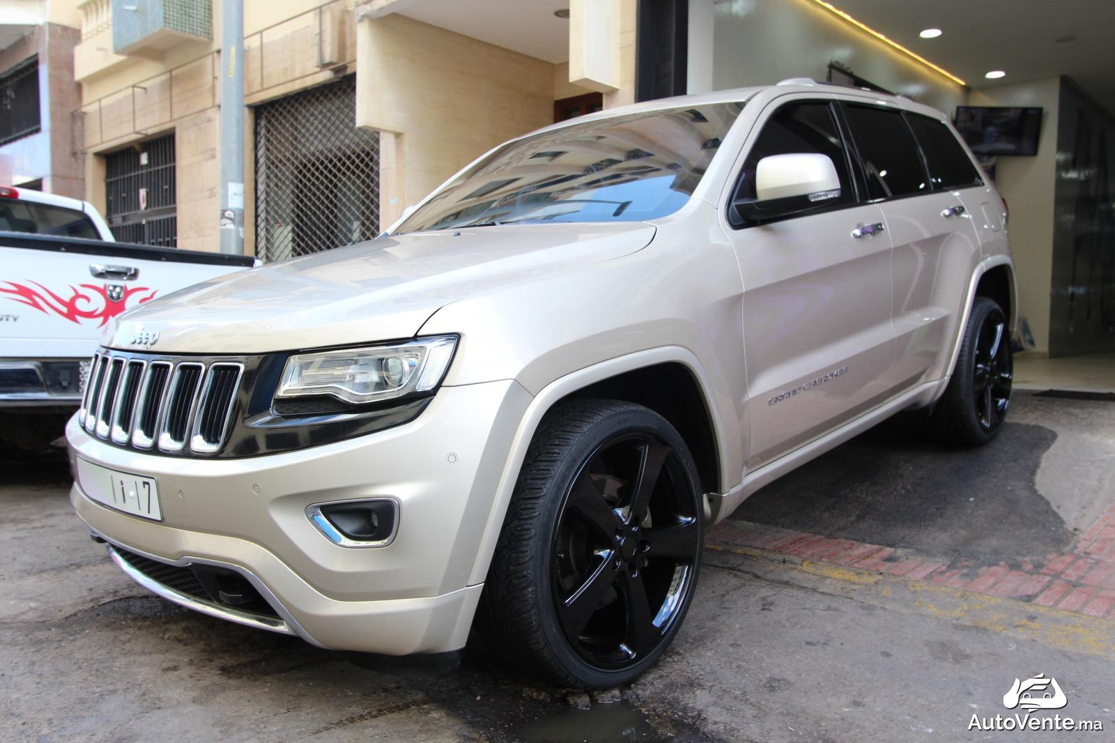 acheter jeep grand cherokee d 39 occasion a casablanca maroc autovente. Black Bedroom Furniture Sets. Home Design Ideas